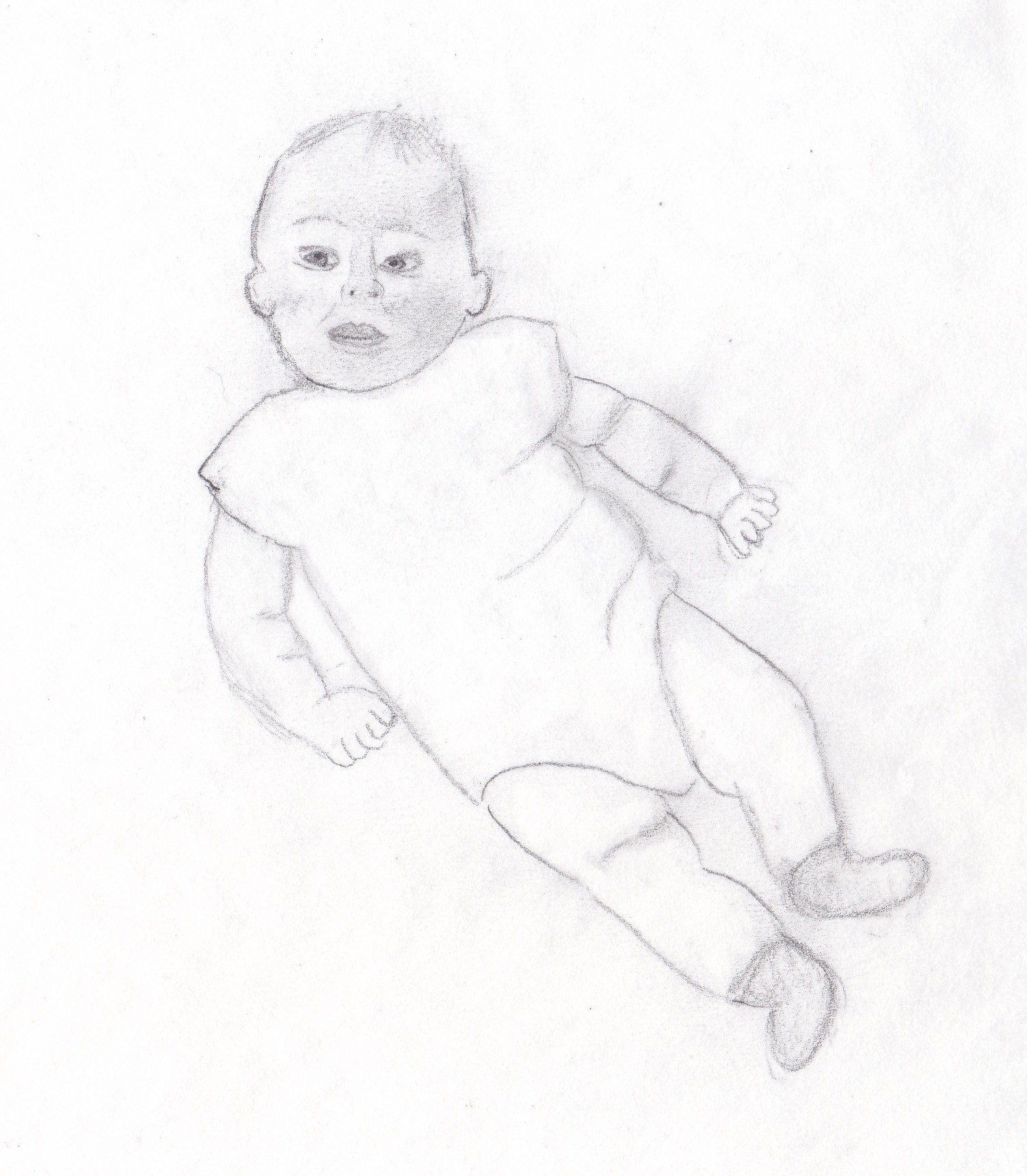 Baby Drawing, Torticollis